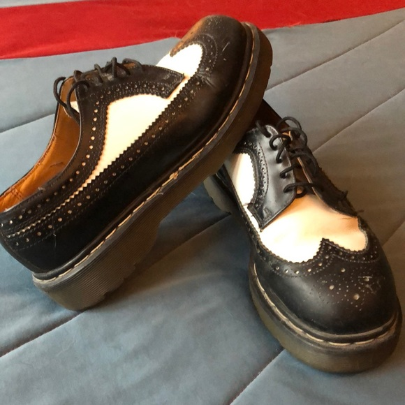 Dr. Martens Other - Dr. Martens - Black and White. M's size 8 (W's 10)